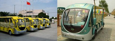 11-местные мини-автобусы на суперконденсаторах. Запас хода у них составляет 16 километров, главным образом за счёт низкого расхода энергии – 0,16 кВт-ч на километр (фотографии Sinautec Automobile Technologies).