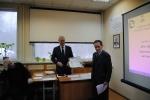 Вручение сертификата Евгеньеву Г.И.