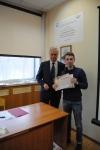 Вручение сертификата Лытову В.М.