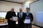 Вручение сертификатов Афанасьеву А.В. и Бакатину Ю.П.