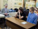 Встреча с зав. кафердой Юрием Васильевичем Трофименко