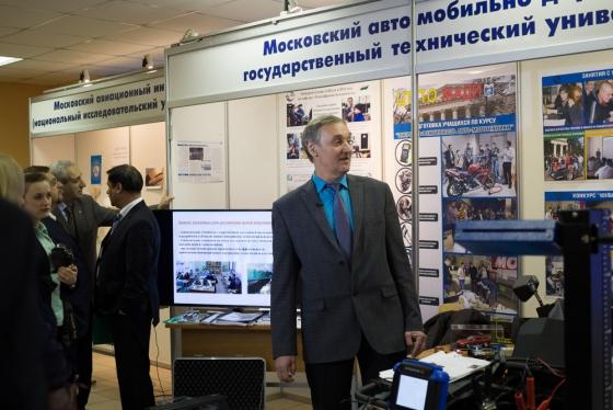 Интервью даёт А.Н. Ременцов, проректор по международным связям МАДИ