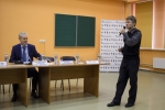 Вопрос задаёт М.П. Малиновский