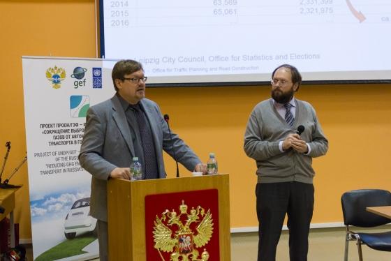 Выступает Торбен Хайнеманн с переводчиком А.В. Зонтовым